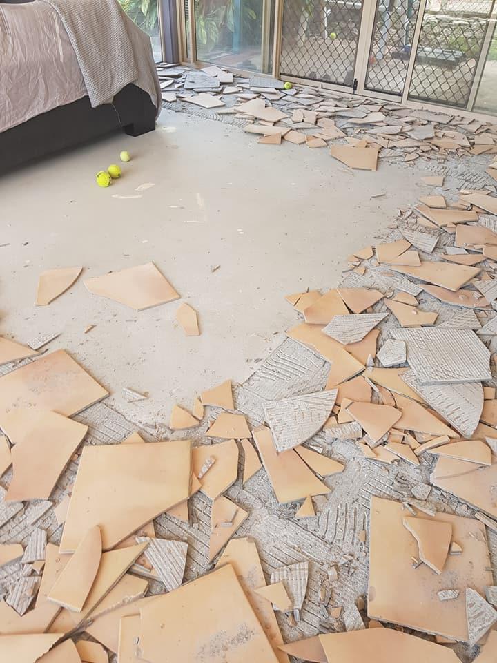 Tile removal image