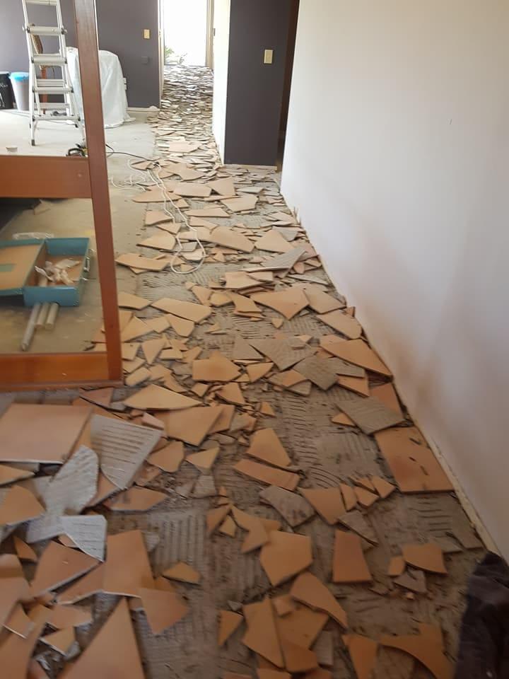 Tile removal