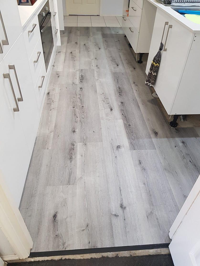 Vinyl flooring replacement