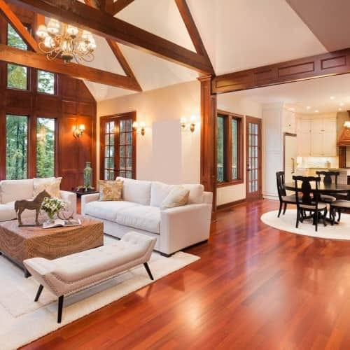 Timber flooring and species options